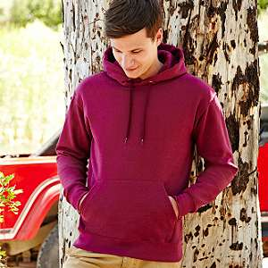 Sweater - FRUIT of the LOOM - Hooded Sweat