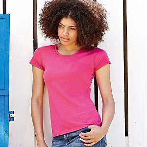 T-Shirt - FRUIT of the LOOM - Lady Fit Valueweight T