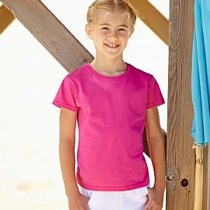 T-Shirt - FRUIT of the LOOM - Girls Valueweight T Kids