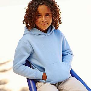 Sweater - FRUIT of the LOOM - Kids Hooded Sweat