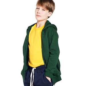 Jacke - HI 5 - BERGEN Hood. Zip Kid