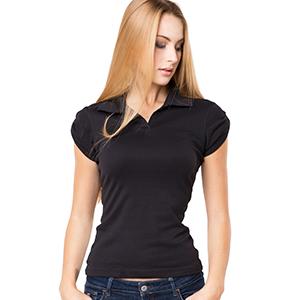 Poloshirt - HI 5 - VERONA Rib Polo Girl