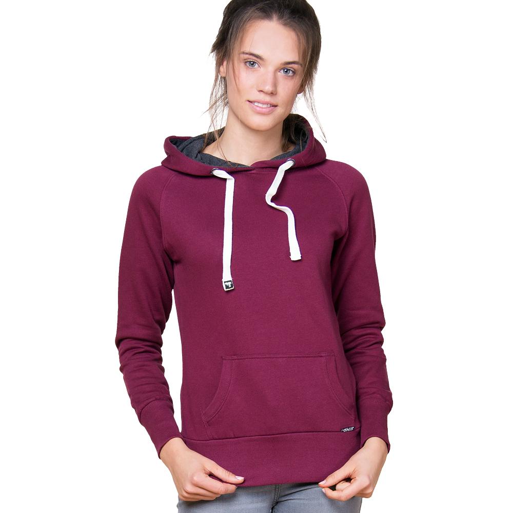 Sweater - HI 5 - LUCY Contrast Hood Girl