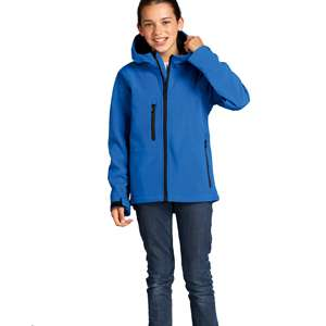 Softshell-Jacken - Sol s - Kids Hooded Softshell Jacke Replay
