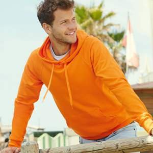 Sweater - FRUIT of the LOOM - Lightweight Hooded Sweat
