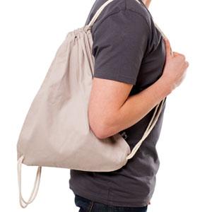 Taschen - HI 5 - Twill-Rucksackbeutel