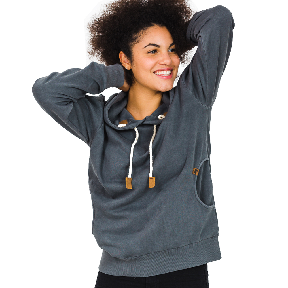 Sweater - HI 5 - WALLI Washed Hoodie Unisex
